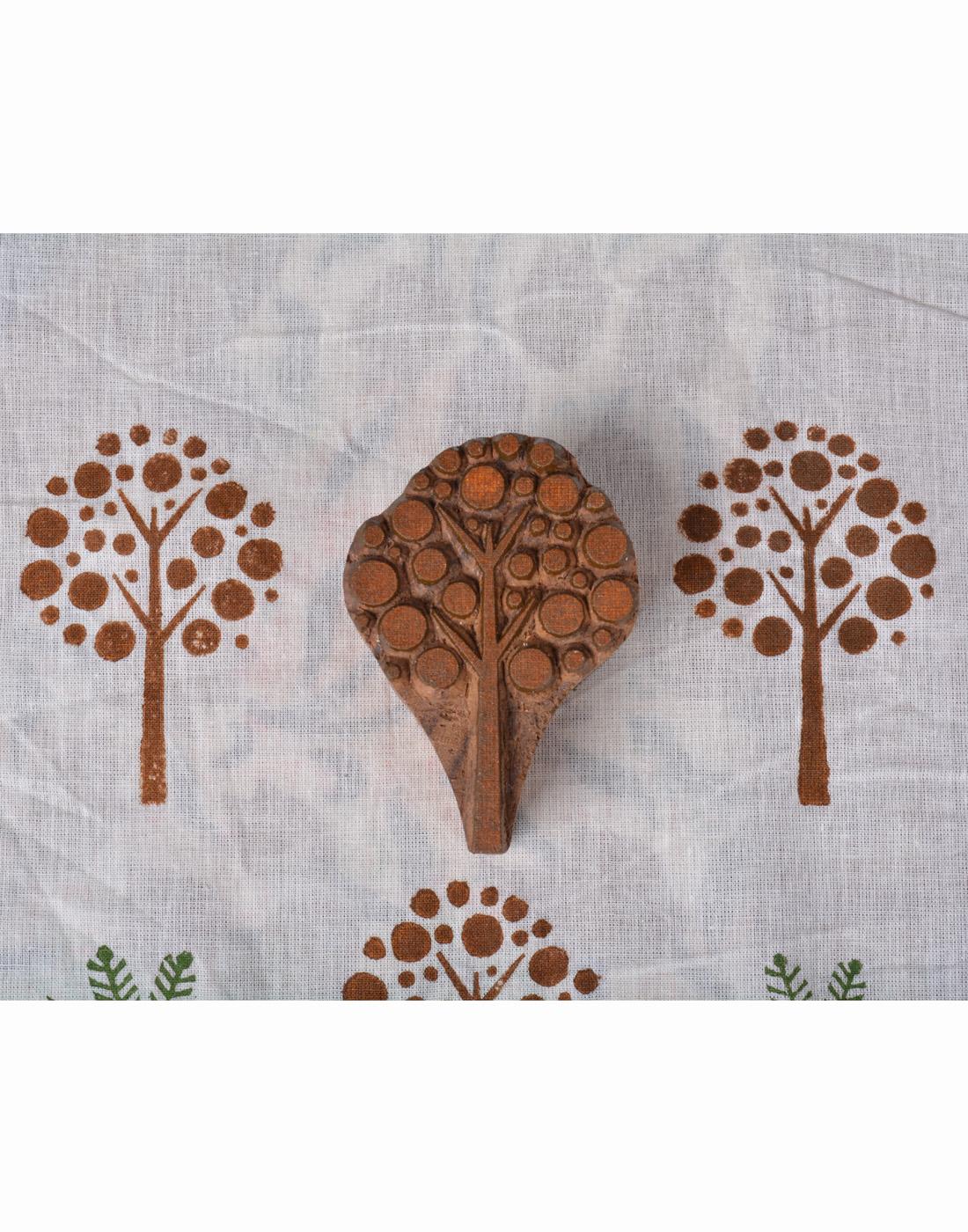 Brown Tree Wooden Printing Blocks