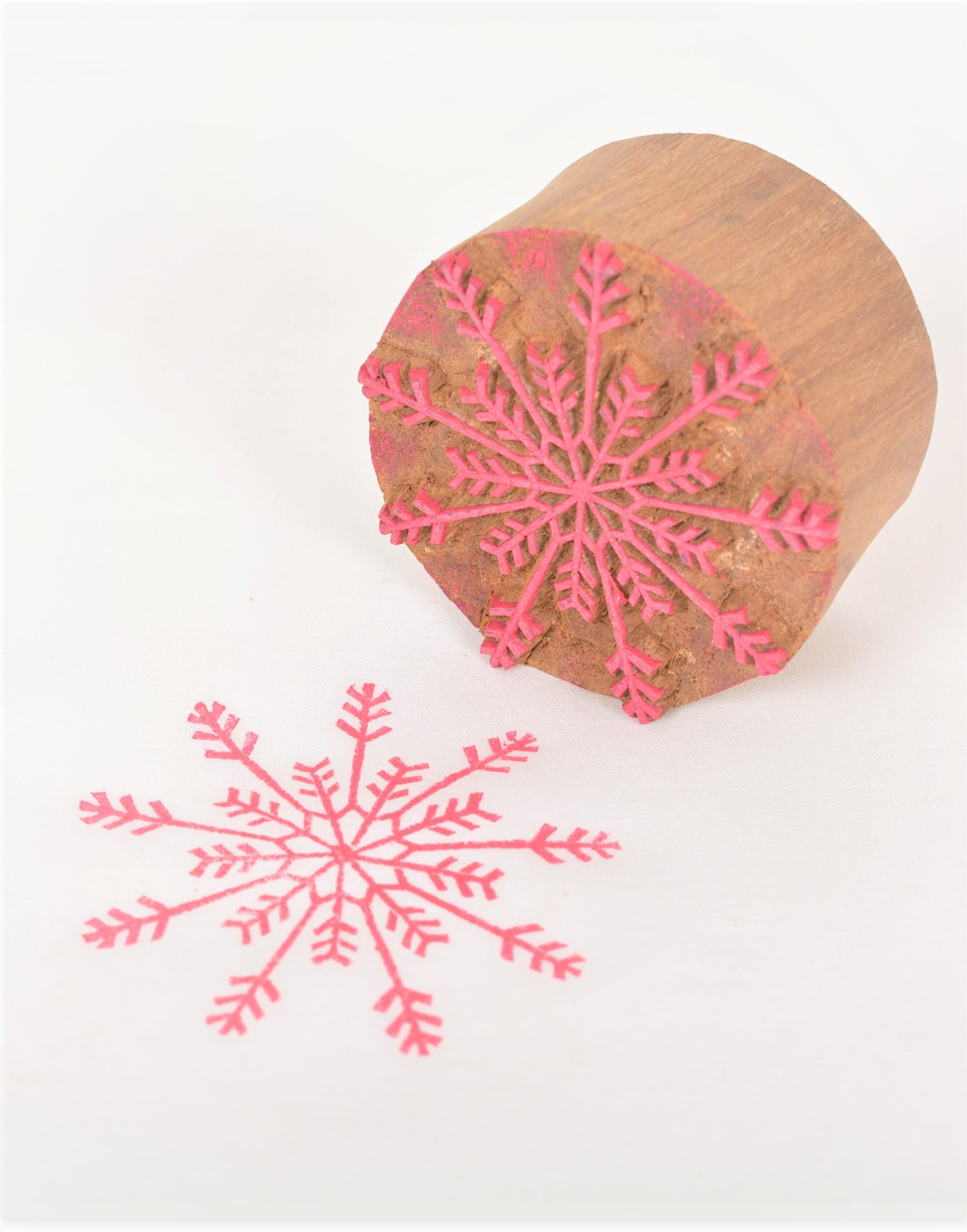 Printing Blocks for Fabric Floral Designs